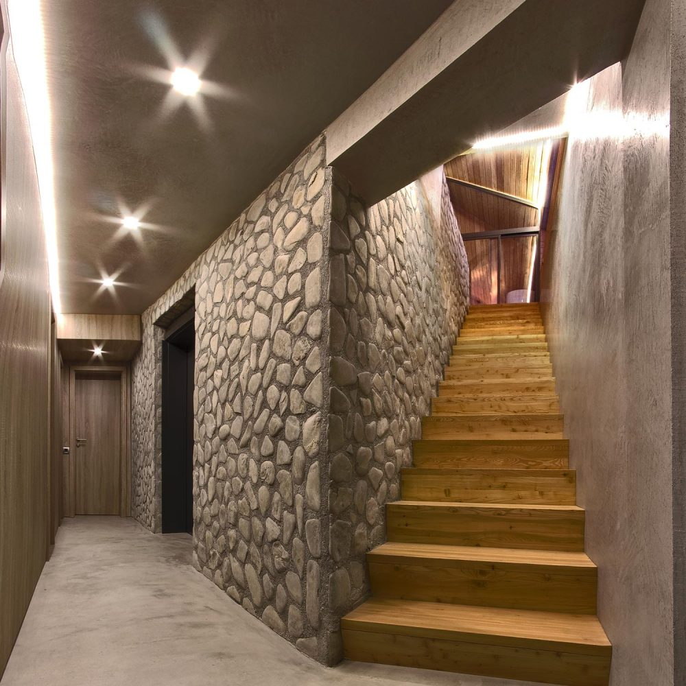 Valley21 Solis House corridor Luca Fornaroli architect